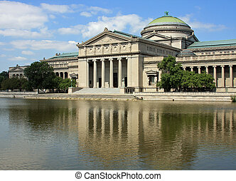 Chicagos Museum of Science and Industry is located in...