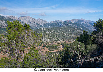 View Orient valley Majorca, Balearic islands, Spain