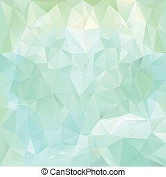 ice blue polygonal triangular