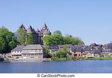 Chteau de Combourg - le chteau de Combourg en Bretagne