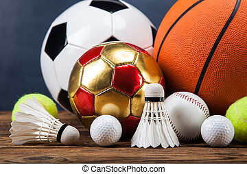 Sports accessories. paddles, sticks, balls and more - Sports...