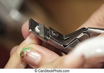 corte, fresco, nails, ,
