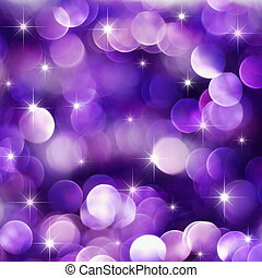 Purple holiday lights - Christmas deep purple lights...