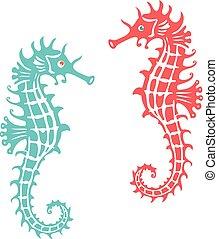 seahorse,