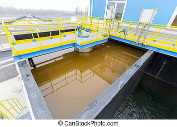 Water treatment plant - Rainwater treatment plant RWTP...