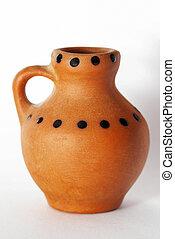 Toy earthenware jug