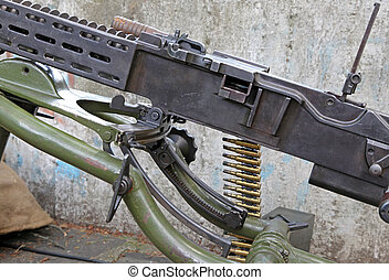 Old machinegun from world war II