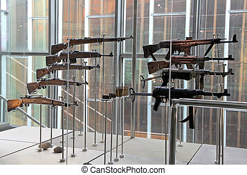 Old guns from world war II