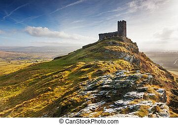 Brentor, Dartmoor National Park, Devon - The Church of St...