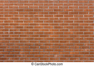 Brick wall background  - Red brick wall background