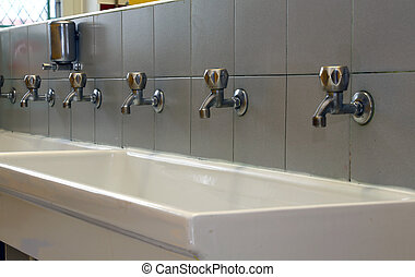 number of Bath Taps of a nursery for children - number of...