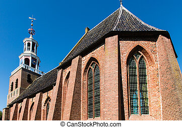 Church - The church of the dutch village of pieterburen