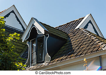 window and garret roof - Traditional Dutch Window and Garret...