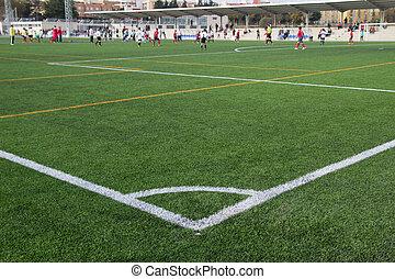 futebol, Partida,