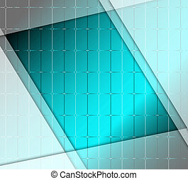 Abstract blue stripe grid backgroun