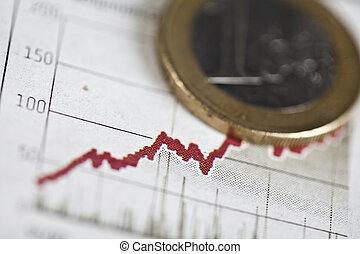 Euro coins - Photography of euro coins, money as a medium of...