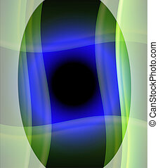 Blue circle light background
