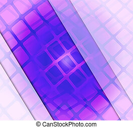Purple striped background with