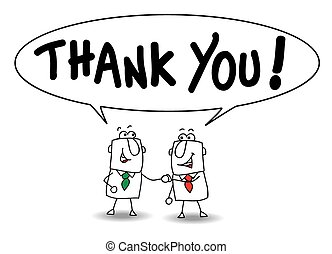 Thank you - Joe and ben the businessmen say thank you. They...