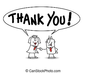 Thank you very much - Joe the businessman and Karen the...