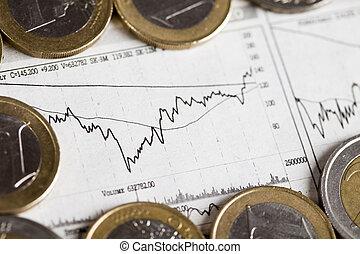 European money - Photography of euro coins, money as a...