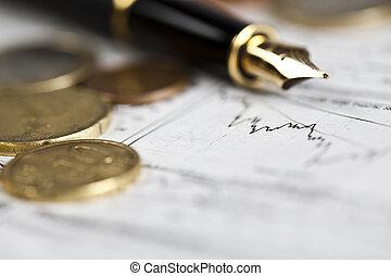 Money & Euro - Photography of euro coins, money as a medium...