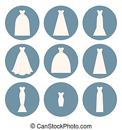 Wedding Dress Style - Different styles of wedding dresses...