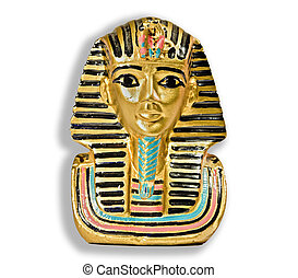 Small decorative statue of a Pharaoh
