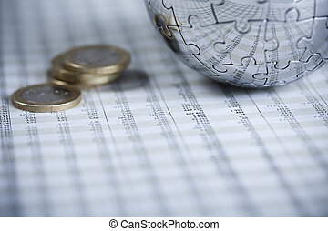 Financial rating - Photography of financial rating, money as...