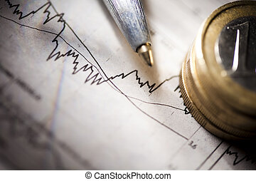 Business and Financial indicators - Photography of financial...