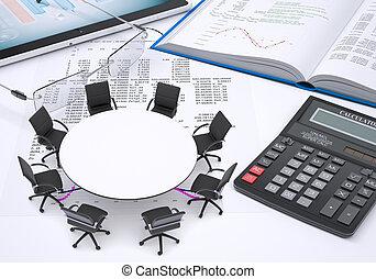 tableta, calculadora, anteojos, libro, papel, figuras, tabla,  PC, redondo, Columnas