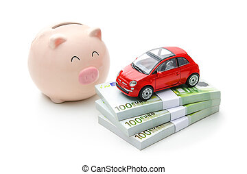 Home finances - Car and money. Rent, buy or insurance car...