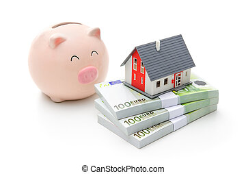 Home finances, building savings and realty investments...