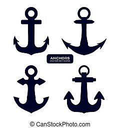 anchor design , vector illustration