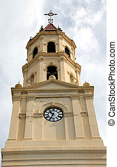 church steeple - historic church steeple photographed in...