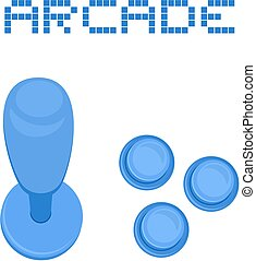 Arcade buttons - Creative design of arcade buttons