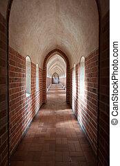 Inside Malbork Castle