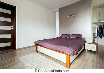 Modern bedroom - Photo of the new modern bedroom design