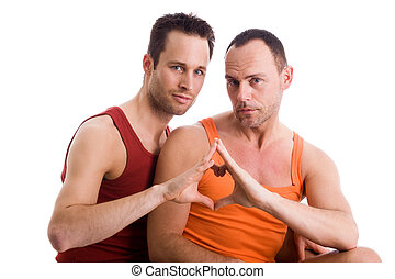 Our valentine wishes - An insight into a happy homo couples...