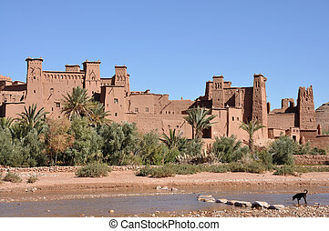 The Kasbah of Ait Benhaddou, Morocco Africa