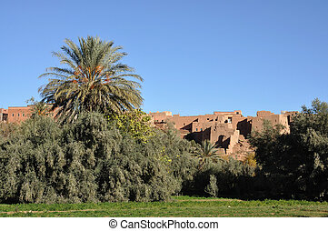 Casbah in Morocco, Africa
