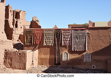 Carpets for sale in Morocco, Africa