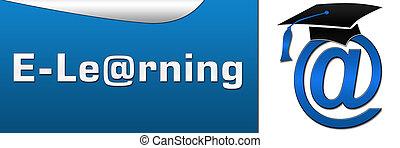 E Learning Horizontal - Horizontal image with e learning...