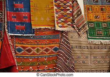 Oriental Carpets for sale in Essaouria, Morocco