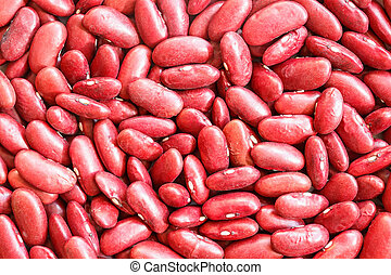 Close up red beans for background