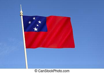bandiera,  Samoa