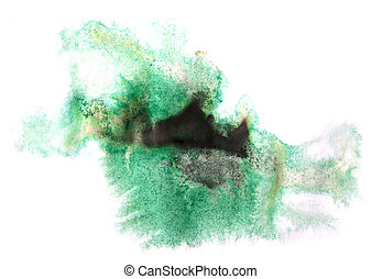 modern art avant-guard texture background green, black...