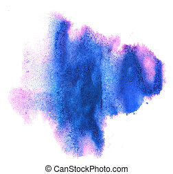 modern art avant-guard texture blue, violet background...