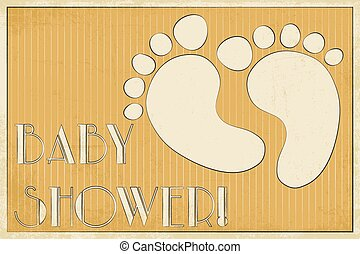 baby shower card - sweet baby shower card,...