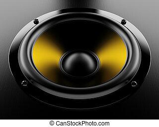 Dynavic - Render illustration of sound speaker